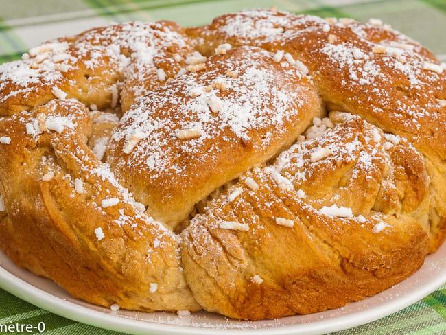 Brioche de Pâques bulgare