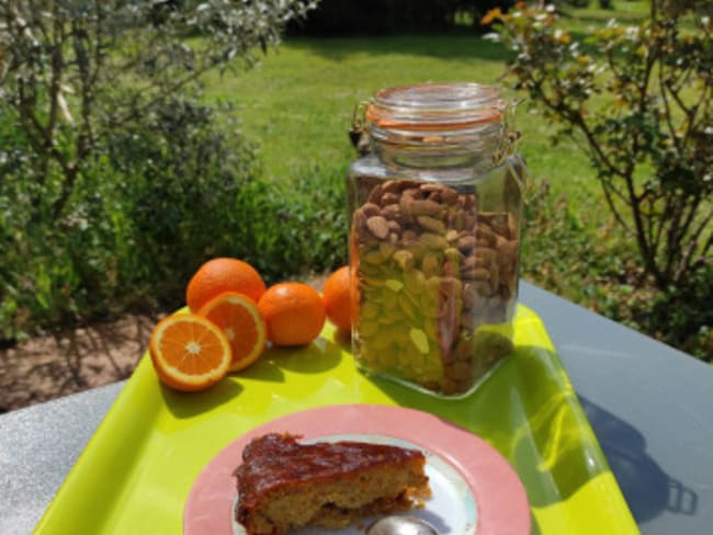 Gâteau orange amandes