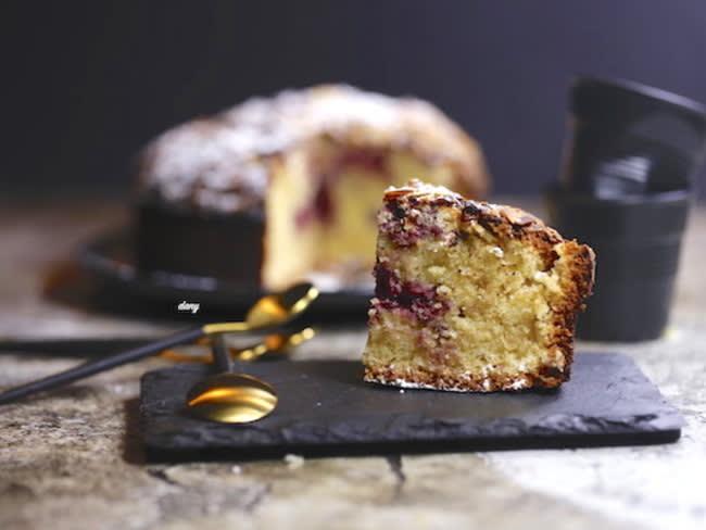 Gâteau bakewell aux framboises