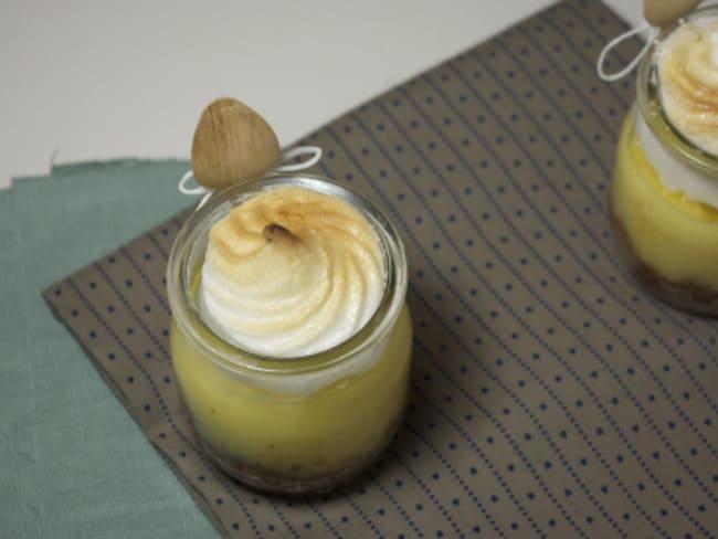 Tarte au citron meringuée…in a jar