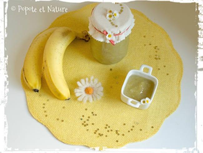 La confiture rhubarbe banane