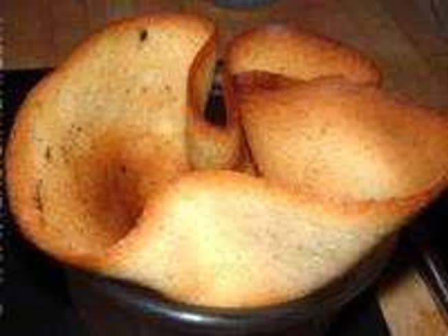 Pâte à tulipes ou calice