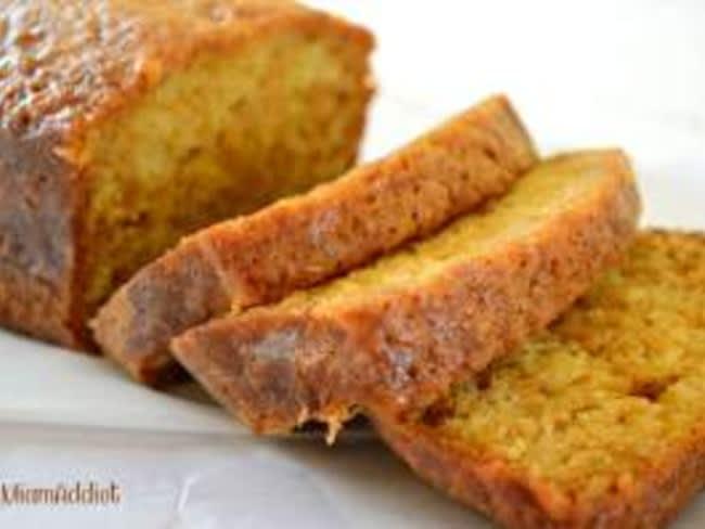 Cake citron et huile d'olive