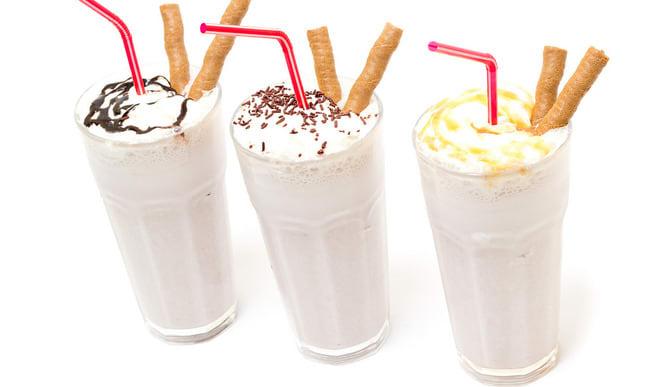 Trois milkshakes