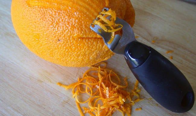 Ecorces d'orange