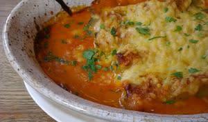 Cannelloni farcis aux épinards et au fromage