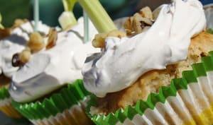 Cupcakes salés olives, tofu et céleri