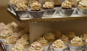 Buffet de cupcakes