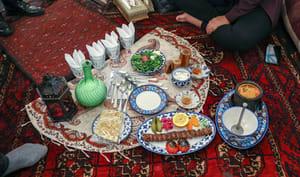Restaurant de cuisine traditionnelle à Téhéran