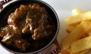 Carbonade flamande frites