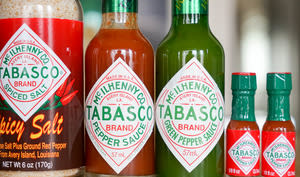 Flacons de Tabasco