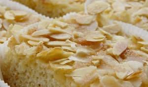 Gâteau aux amandes sans gluten
