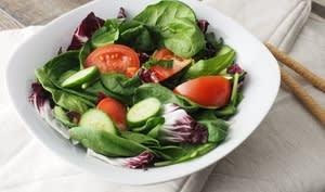 Salade tomates et concombres