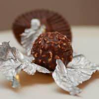 Rocher Ferrero déballé