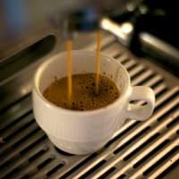 Café Expresso en préparation