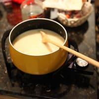 Caquelon de fondue savoyarde