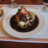 Profiteroles sauce chocolat