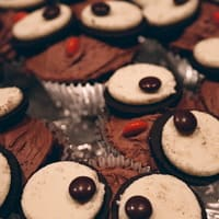 Cupcakes Oreo chouettes