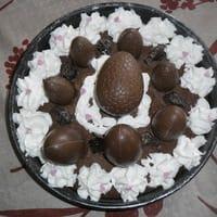 Gâteau nid de Pâques