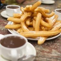 Churros con Chocolate