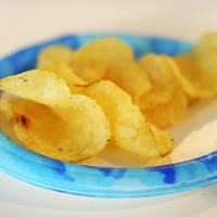 Chips de pommes de terre.