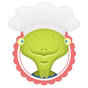 Une tortue dans la cuisine