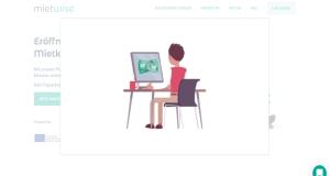 Mietwise: Video auf der Website eingebunden