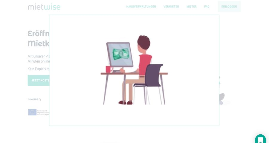 Hire wise: video embedded on website