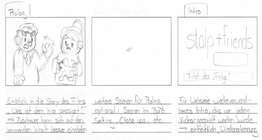 Stol+Friend Storyboard