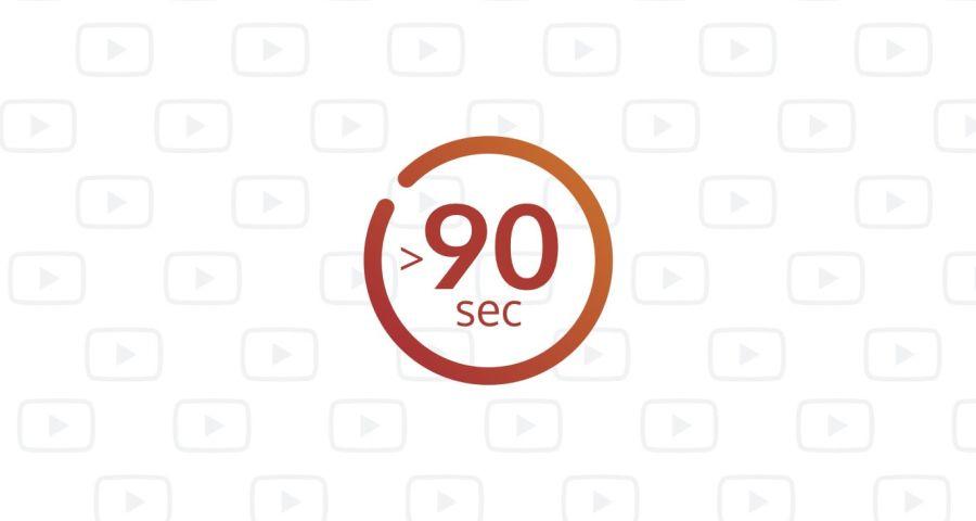 Wann ist ein Video mit über 90 Sekunden sinnvoll?