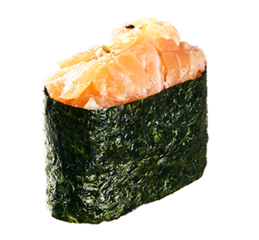 Salmon Gunkan (1 Stück)