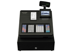 Cash register with raised keyboard - Black