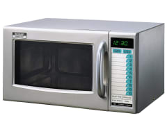 1000W Commercial Microwave - Stainless Steel