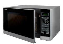 900W Midsize Microwave - Silver