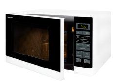 900W Midsize Microwave - White