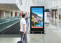 75-inch 4K SoC 24/7 Digital Display