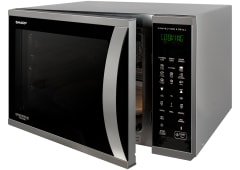 1000W Convection Microwave - Stainless Steel