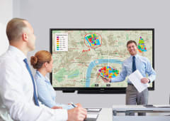 75-inch 4k InGlass SoC Interactive Whiteboard