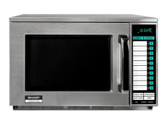 1500W Commercial Microwave - Stainless Steel