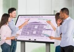 65-inch 4k InGlass SoC Interactive Whiteboard