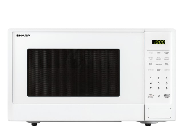 1100W Midsize Microwave - White