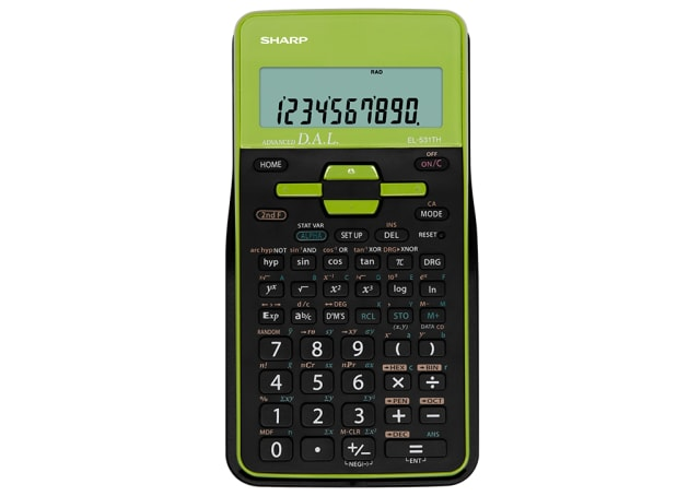 Scientific Calculator - Green/ Black