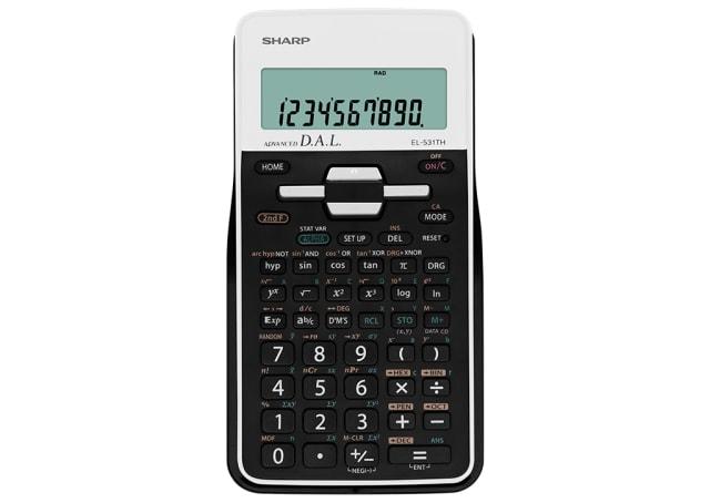 Scientific Calculator - White/ Black