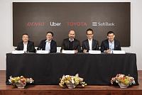 Toyota , SoftBank fund , Denso...