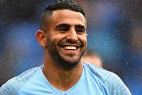 Manchester City: Riyad Mahrez happy...
