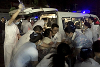 11 dead, 122 wounded after quake hits...