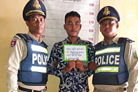 Cops arrested two suspects for...