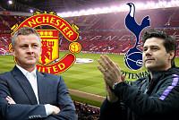 Man Utd face Tottenham Hotspur...