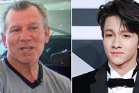Father of Korean singer Samuel Kim...