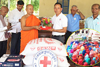 Venerable Sam Saravuth Uchon donated...